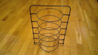 Antique Baker ' S 6 Tier Twisted Wire Pie Cooling Rack photo
