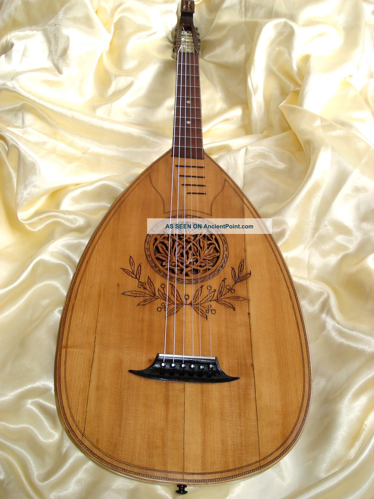 German Lute Ca.  1920 String photo