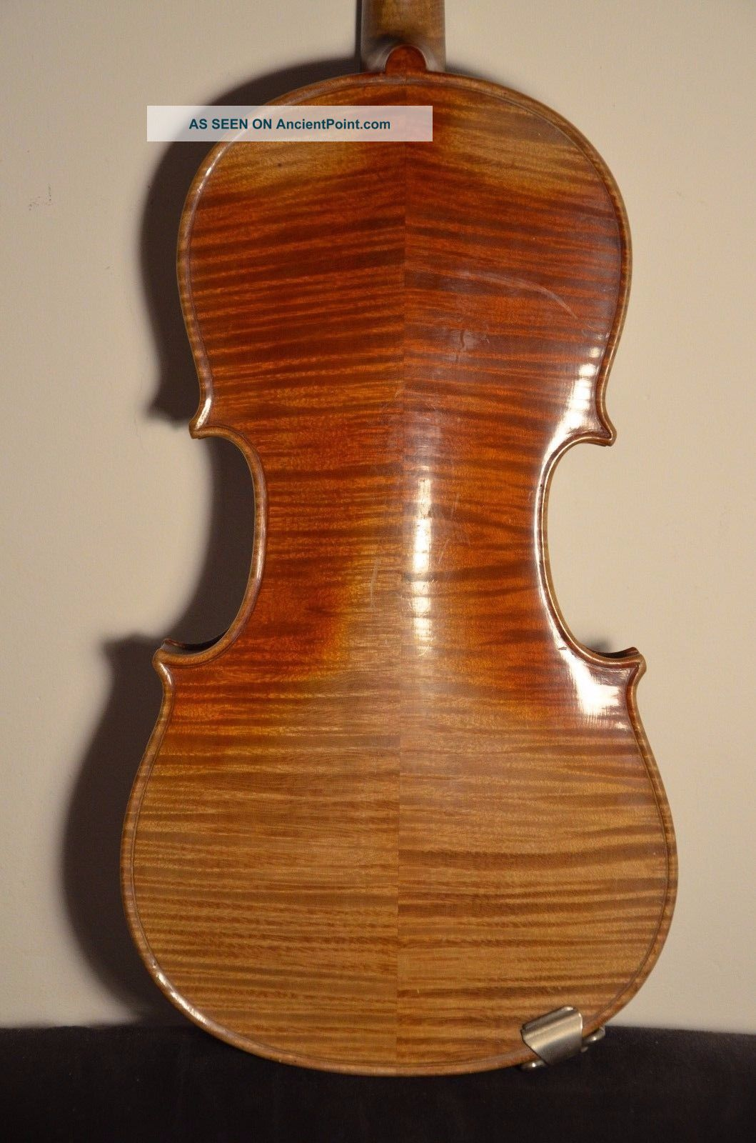 Old German Violin 3/4 Strad Model Old Label String photo