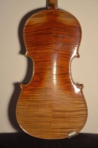 Old German Violin 3/4 Strad Model Old Label photo