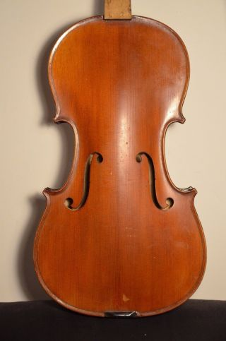 Old French Violin 3/4 Strad Model photo