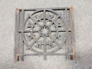 Antique Primitive Architectural Metal Brass Remnant Stove Burner? photo