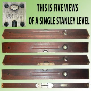 Antique Stanley Brass Bound Cherry 26