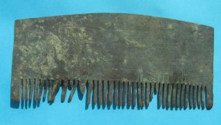 Ancient Bronze Comb photo