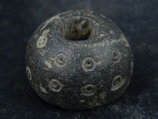 Ancient Stone Bead/spindle Whorl Gandharan/gandhara 100 Ad Stn649 photo