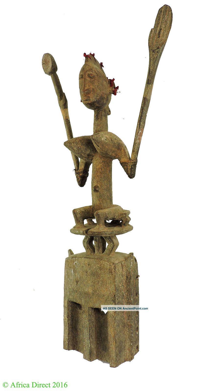 Dogon Satimbe Mask Seated Female Figure Mali African Art Was $850 Masks photo