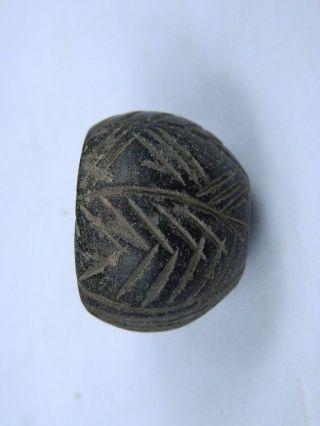 Ancient Stone Bead/spindle Whorl Gandharan/gandhara 100 Ad Stn289 photo