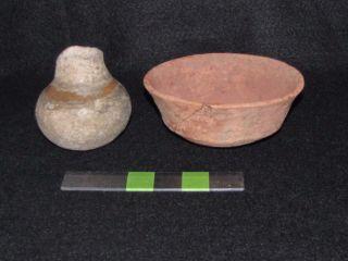 Pre Columbian,  Mayan Pottery,  Late Postclassic 1200 A.  D.  1519 A.  D. photo