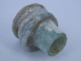 Ancient Glass Bottle Roman 200 Bc Gs200 photo