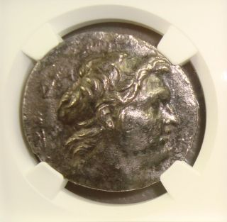 162 - 150 Bc Seleucid Kingdom,  Demetrius I Ancient Greek Silver Tetradrachm Ngc photo