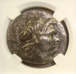 162 - 150 Bc Seleucid Kingdom,  Demetrius I Ancient Greek Silver Tetradrachm Ngc photo