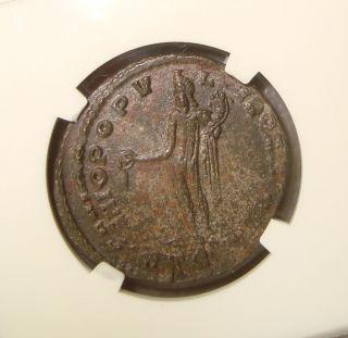 Ad 286 - 310 Maximian Ancient Roman Nummus Ngc Ms (state) 3/5 4/5 photo