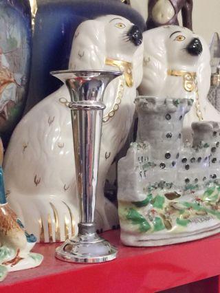 Sterling Silver Vase photo
