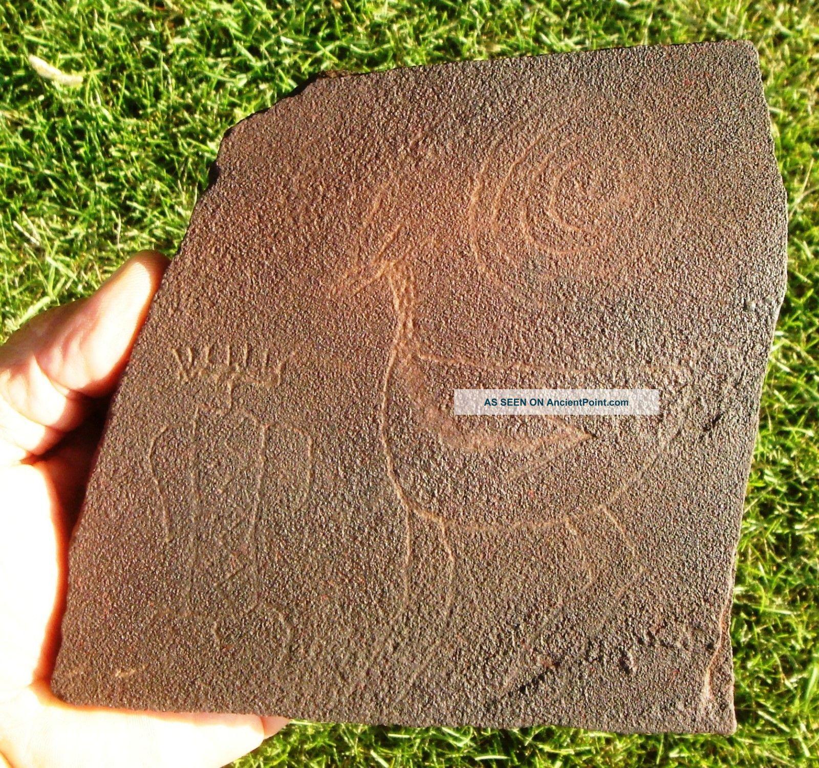Petroglyph,  Near Sevier,  Utah Native American photo