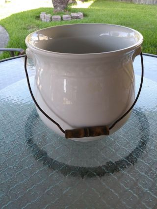 Ironstone Chamber Pot photo