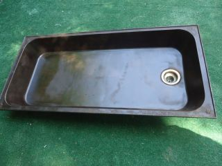 Antique Laundry Sink N & N Mfg.  Co Bangor,  Me.  Laundry Sink,  Embossed,  Forge,  Terarium photo
