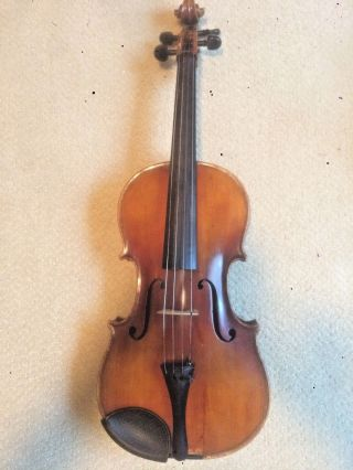 Vintage German 15.  5 Inch Viola photo