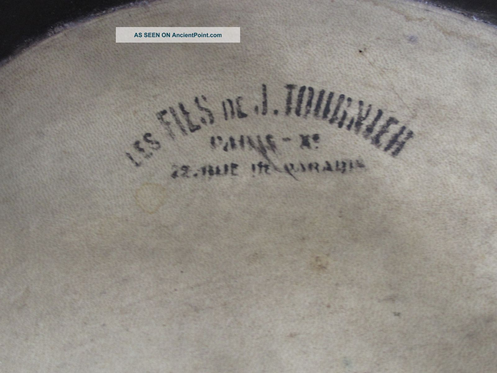Antique French Marching Snare Drum Percussion photo