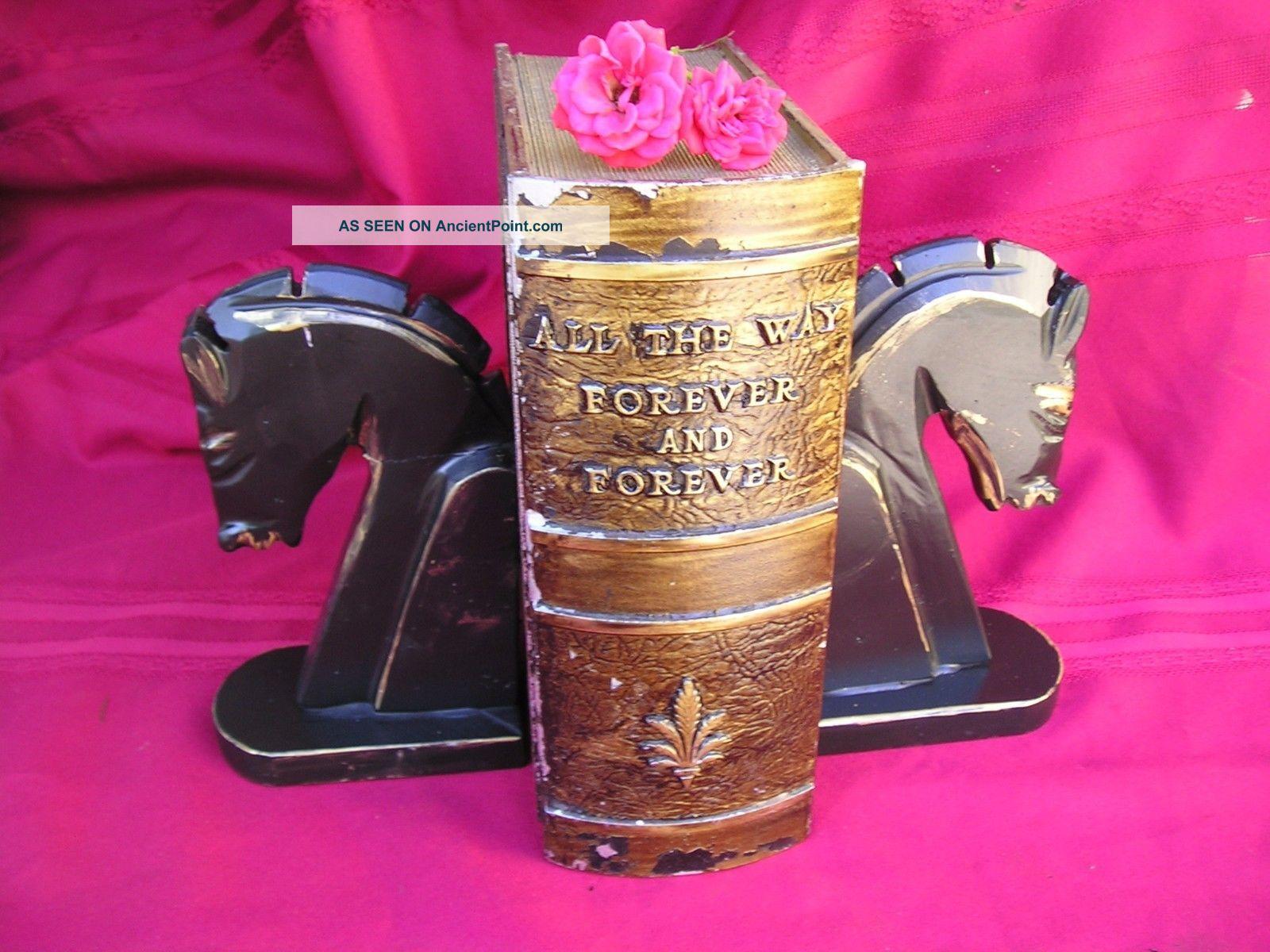 Antique Victorian Cremation Ash Urn - Hidden Safe Cast Metal 15 Lb Rare Safes & Still Banks photo