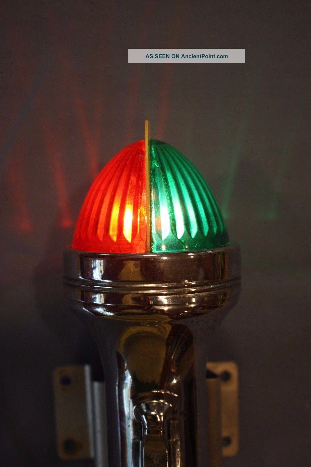 Vintage Maritime Night Marker Light - Well - Flashlight Style Lamps & Lighting photo