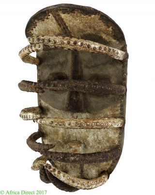 Bete Nyabwa Spider Mask Liberia African Art 24 Inches Was 1200 photo