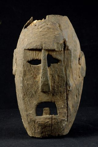 Old Selfstanding Atoni Mask - West Timor - Tribal Artifact photo