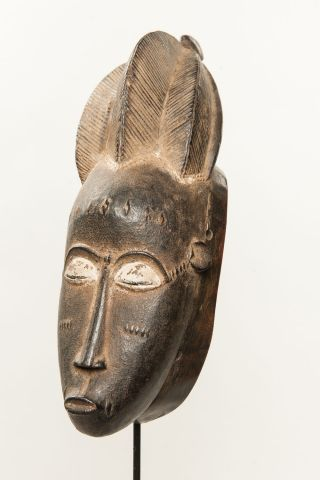 Baule Costume Mask,  Côte D ' Ivoire,  African Tribal Arts,  African Masks photo