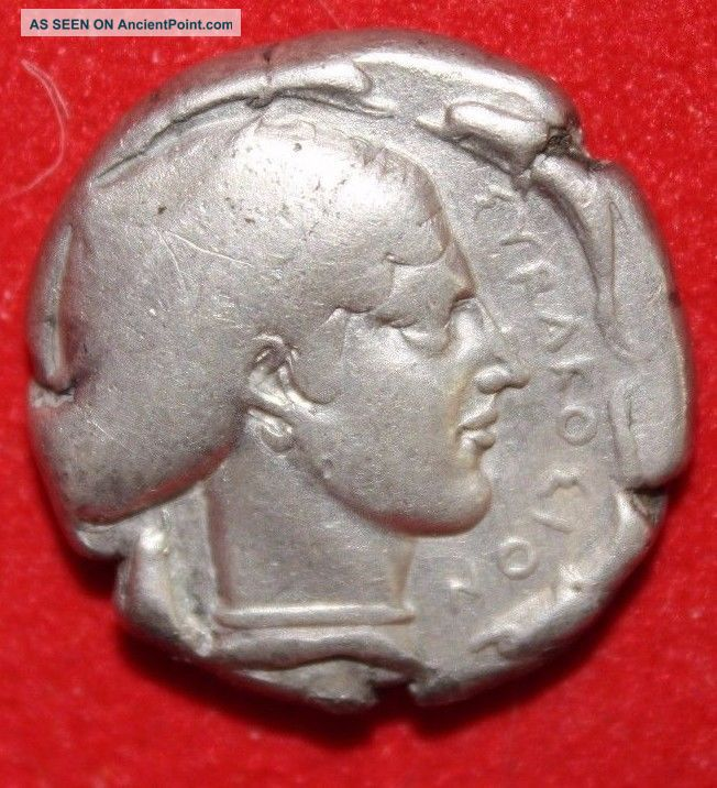 David R.  Sear Authenticated And Graded Ar Syracuse Tetradrachm Artemis 440 Bc Greek photo