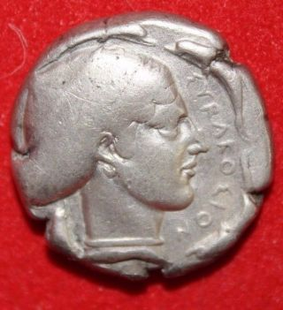 David R.  Sear Authenticated And Graded Ar Syracuse Tetradrachm Artemis 440 Bc photo
