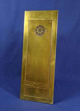 Vtg Standard Electric Brass Apartment Intercom Panel Call Box Antique Salvage photo