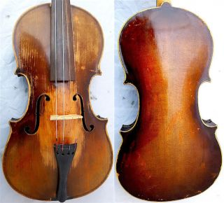 Fine 4/4 Old Master Label: J.  Dvorak Violin Old Wood 小提琴 СКРИПКА Geige photo
