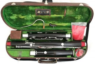 Historical Heckel Biebrich Bassoon Owned By Erich Wolschke - Completely Restored photo