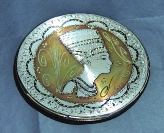 A Pharaonic Egyptian Antique,  A Plate Made Of Copper photo