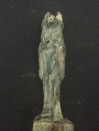 Rare Ancient Egyptian Anubis 30th Dyn 380 Bc photo