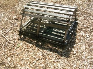 We Ship For Cary777 Maine Round Wood Lobster Trap photo