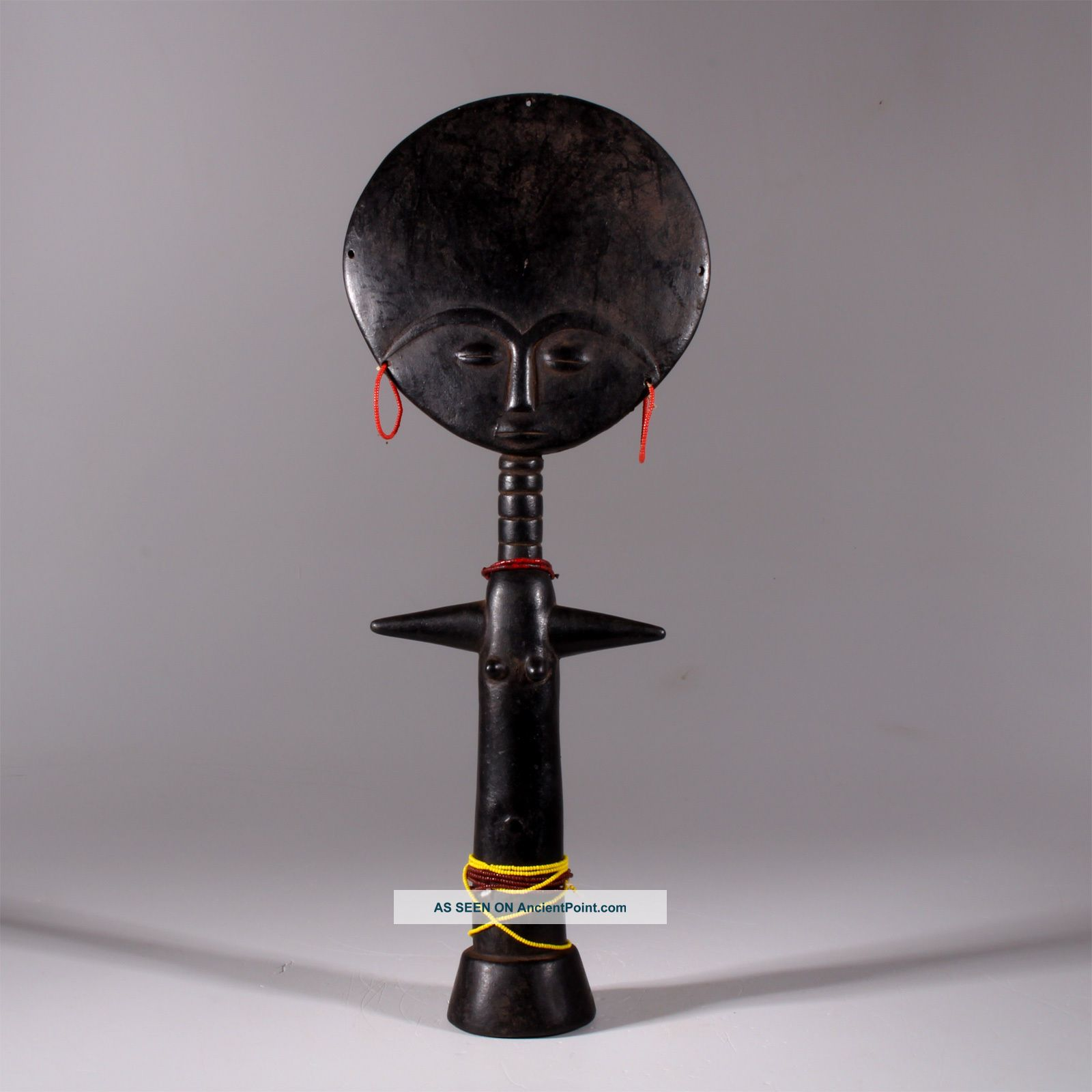 9054 Akuaba Fertility Ashanti Doll Sculptures & Statues photo
