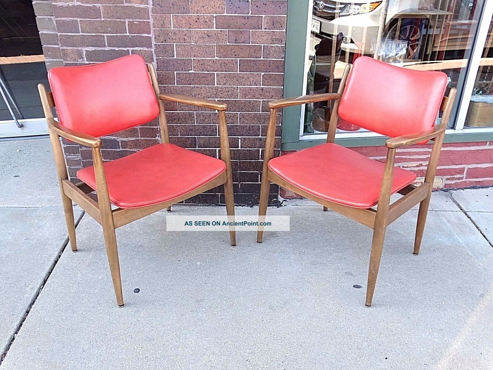 Mid Century Modern Retro Floating Frame Chair 2 Available Post-1950 photo