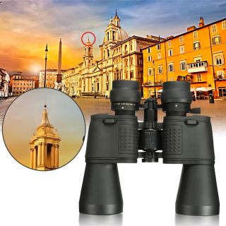 180 X 100 Zoom Day Night Vision Outdoor Travel Binoculars Hunt Telescope,  Case photo