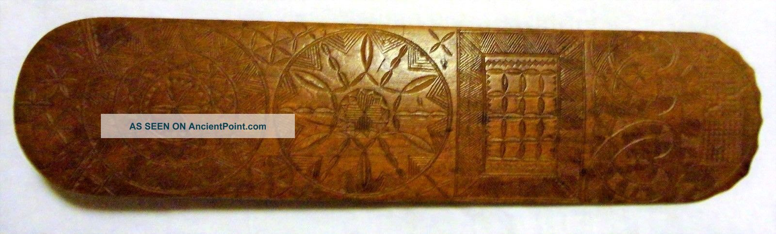 Antique Nautical 1772 Carved Wooden Busk Other Maritime Antiques photo