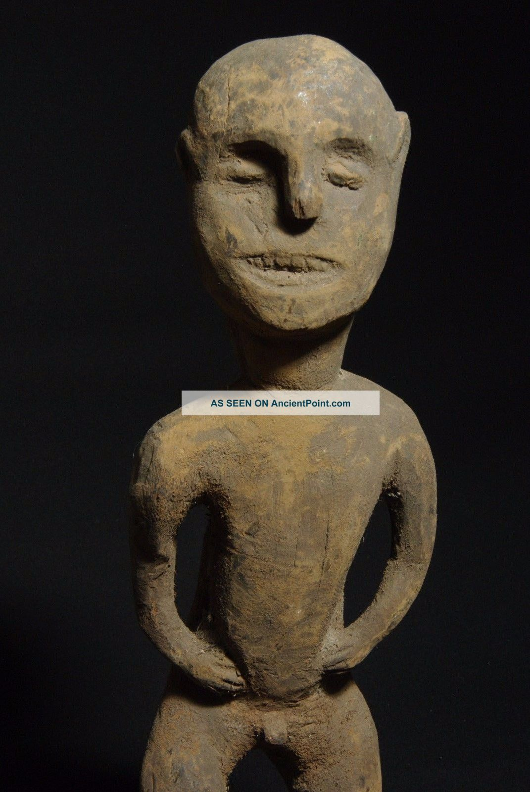 Figure Of Ancestor - Atoni - Tribal Artifact - West Timor Pacific Islands & Oceania photo