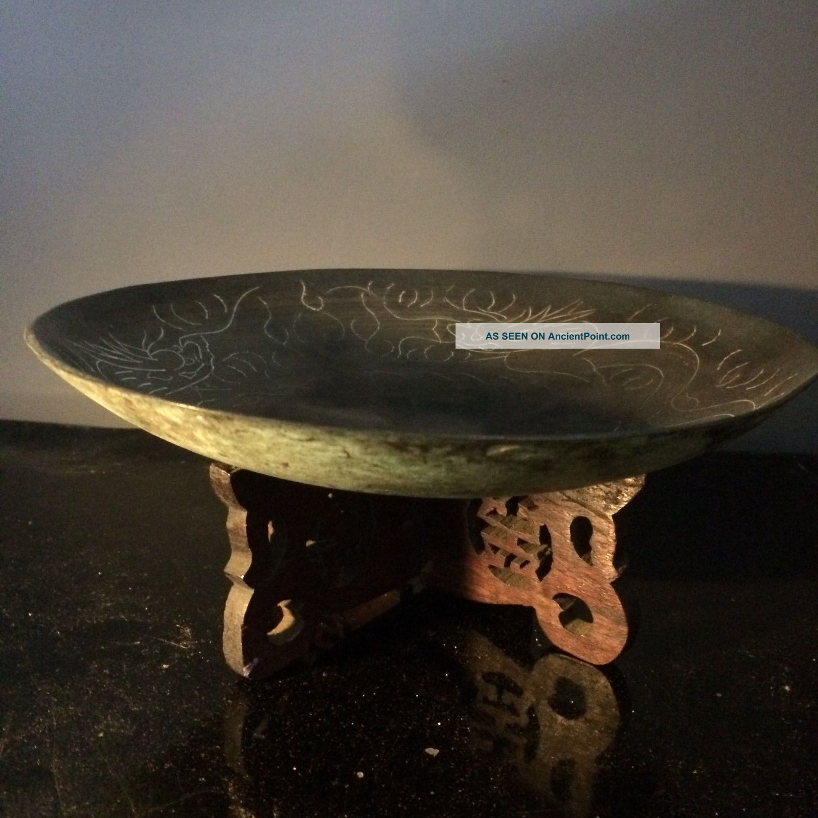 Antique Witchcraft Occult Offering Bowl Murgatroyd Witches Fred Gettings Other Ethnographic Antiques photo