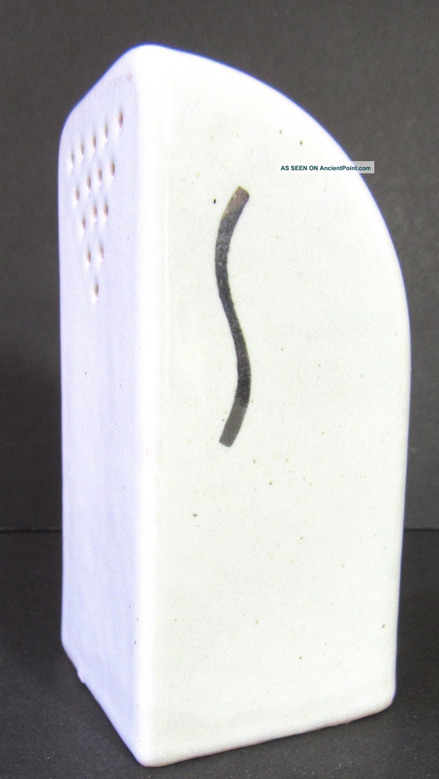 Vintage Stove Top Ceramic Salt Shaker Only Art Deco Wedgewood Midcentury Stoves photo