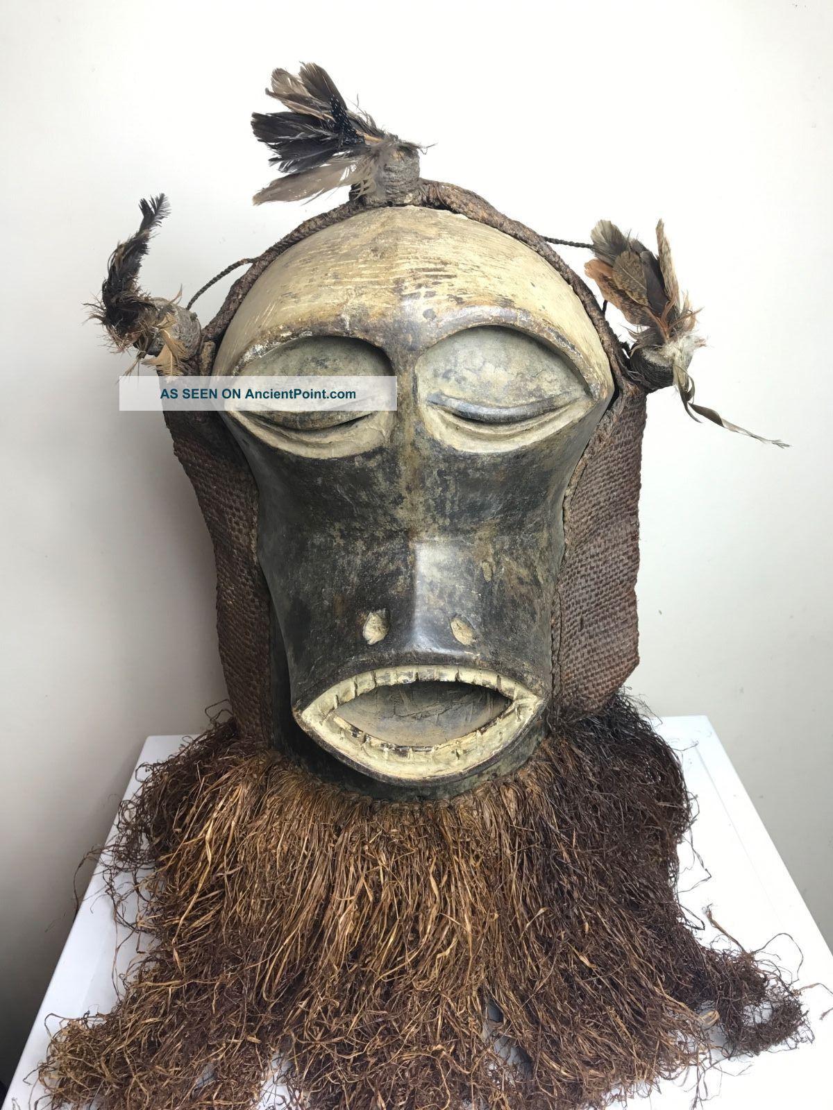 Songye Sokumutu Mask Other African Antiques photo