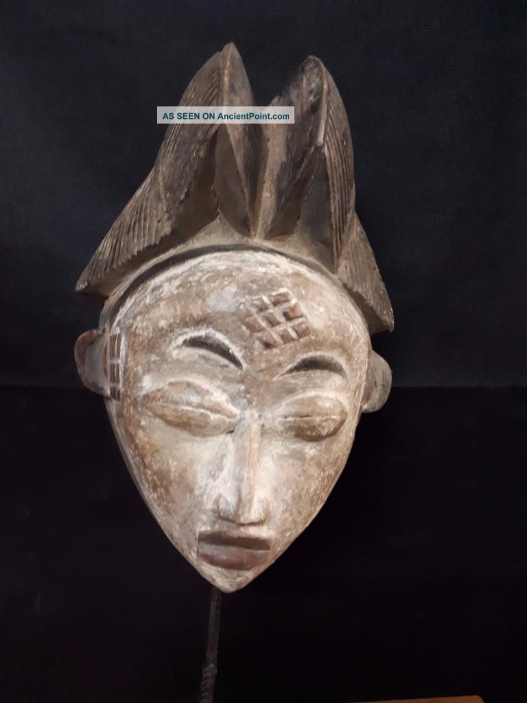 The Maiden Punu Mask Gabon Africa. .  Fest - Gb38 Other African Antiques photo