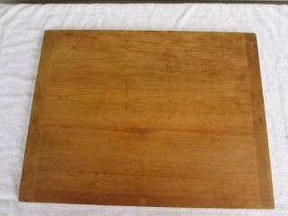 Vintage Large Wood Bread Board 26