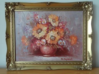 C.  20th - Vintage Oil On Canvas Painting