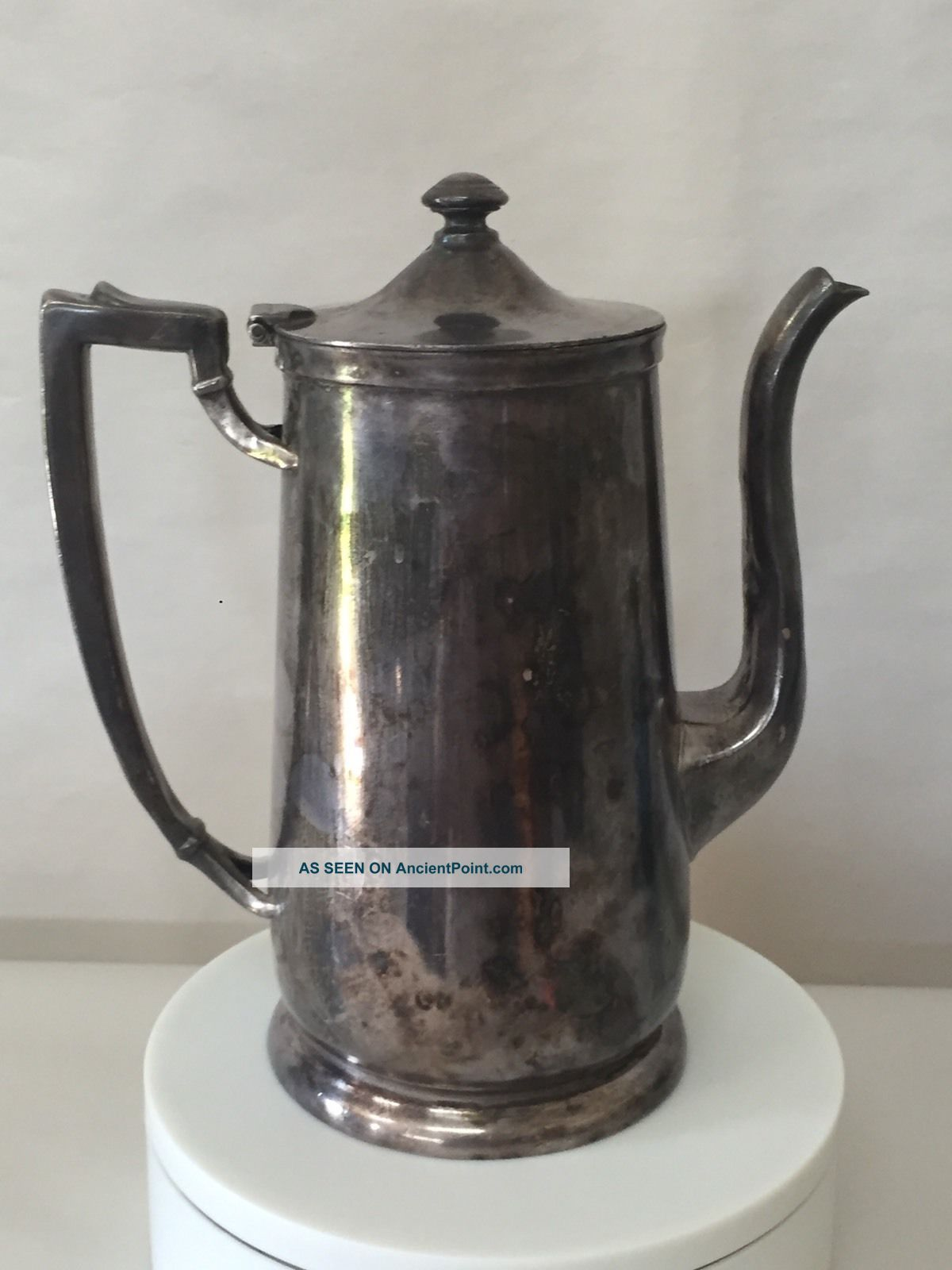 Antique International Silver Company Tea Pot - Silver Soldered 48oz Tea/Coffee Pots & Sets photo