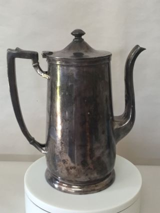 Antique International Silver Company Tea Pot - Silver Soldered 48oz photo