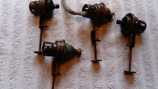 Antique Oil Lamp Parts.  Spares And Repairs. photo