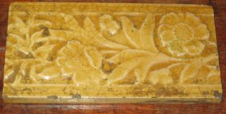 Craven Dunnill Majolica Border Tile Architectural Design Shabby Chic Look photo